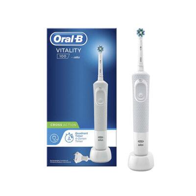Oral-B Vitality 100- Elektrische Tandenborstel – Wit