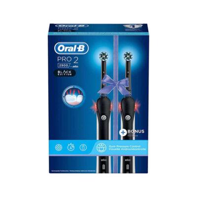 Oral-B PRO 2 2900 – Elektrische Tandenborstel – Zwart