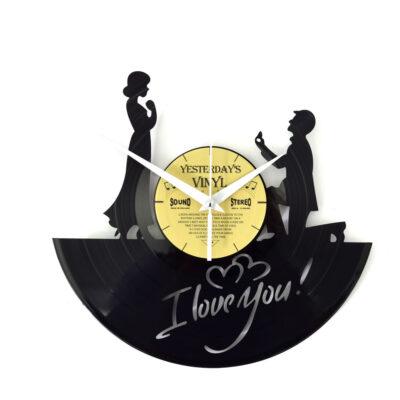 Yesterdays Vinyl Klok I Love You 30 cm