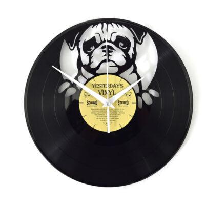 Yesterdays Vinyl Klok Hondenkop 30 cm