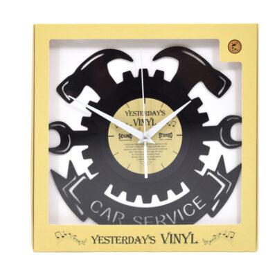 Yesterdays Vinyl Klok Car Service 30 cm