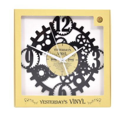 Yesterdays Vinyl Klok Tandwiel 30 cm