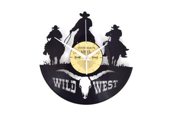 Yesterdays Vinyl Klok Wild West 30 cm