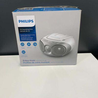 Philips AZ215S - Radio/CD-speler - Grijs - Tweedekans